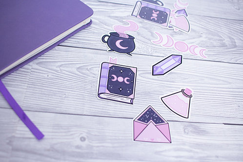 Witchy Things Sticker Pack