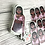 Thumbnail: Valentines gal mirrored sticker