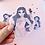 Thumbnail: Peachy gal sticker