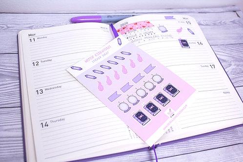 Witch Essentials Sticker Sheet