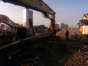 Восстановление посадочных мест экскаватора-разрушителя