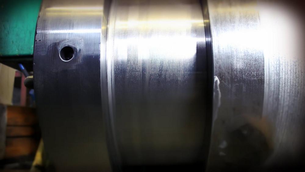 Ремонт оголовка штока пресс-ножниц методом изготовления ввертыша