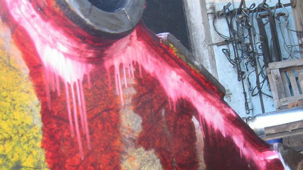 Цветная дефектоскопия гидроножниц