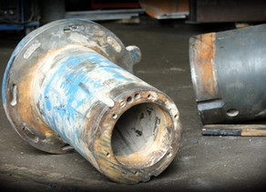 Восстановление эксцентрикового привода конусной дробилки