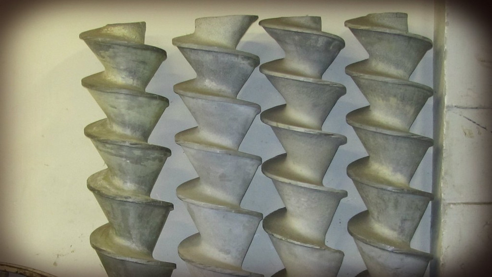 Ремонт шнеков из силумина
