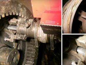 Ремонт отверстий на шестерне главного вала шагающего экскаватора