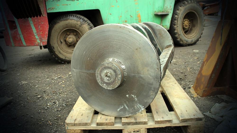 Дробилка для переработки пластика