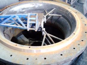 Восстановление сопряжений чаш на Sandvik H8800