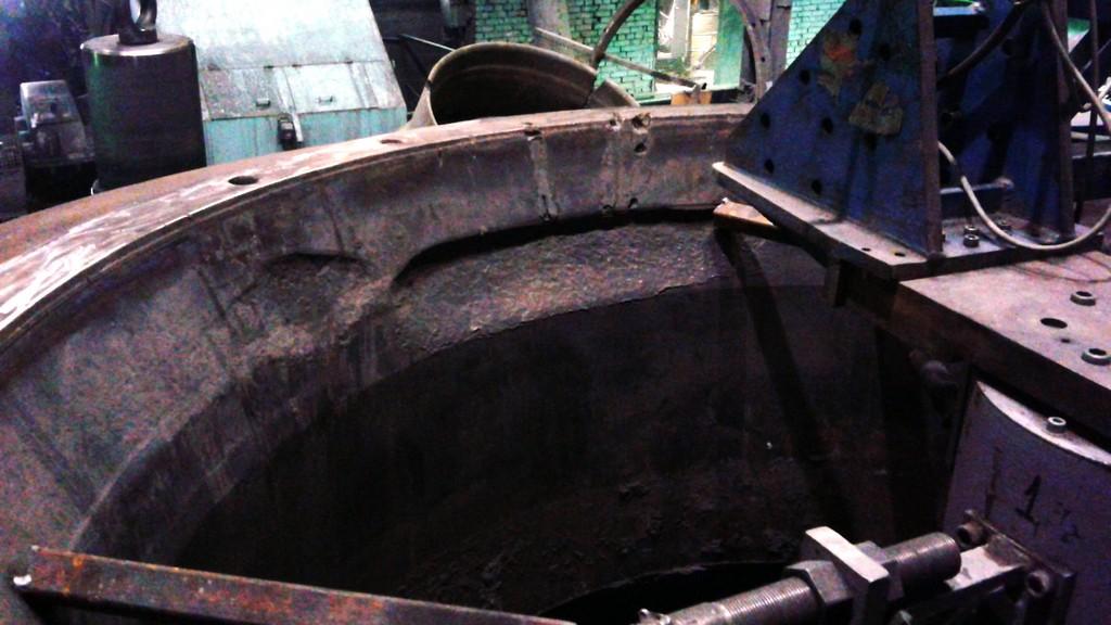 Восстановление поверхности чаш