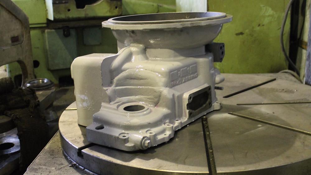 Ремонт чугунного корпуса коробки передач