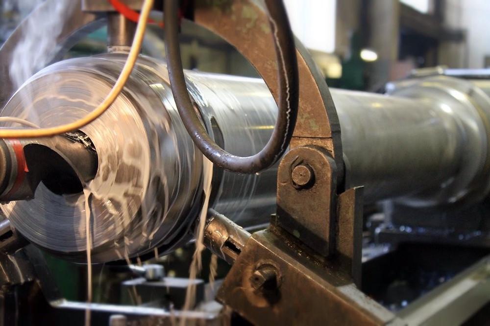 Восстановление штока гидроцилиндра пресс-ножниц Metso Lindemann 1034