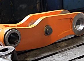 Ремонт линка и тяги погрузчика VOLVO L180E