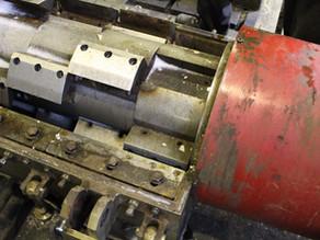 Ремонт ротора дробилки полимерных отходов СЛФ-1600М ПЭ