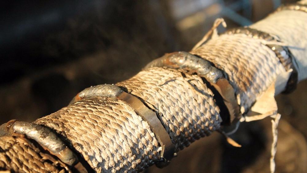 Восстановление шнека экструдера
