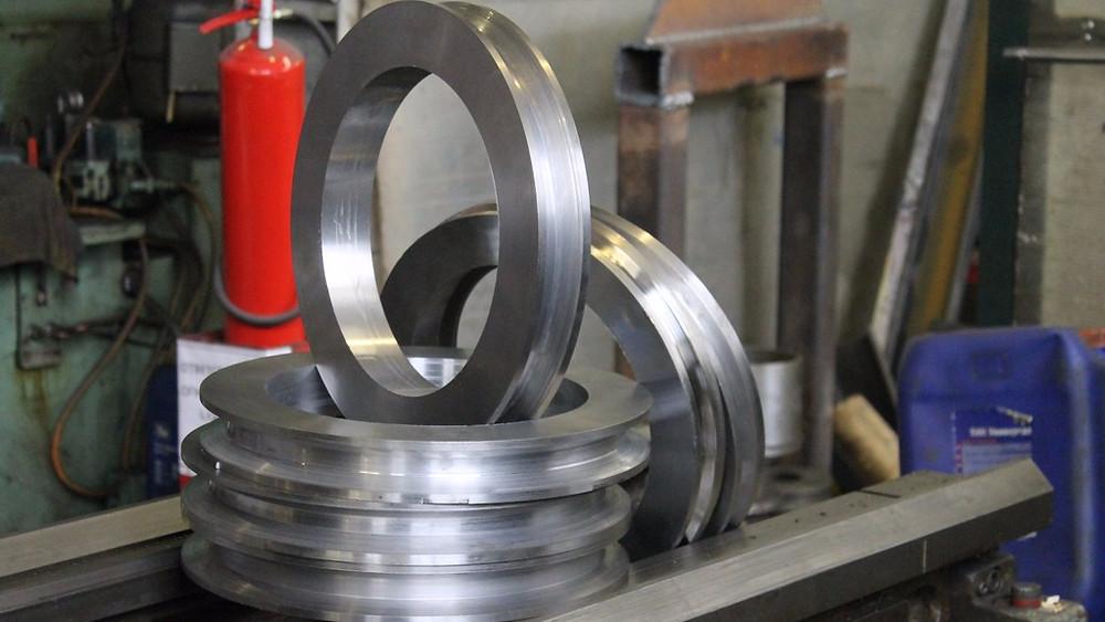 Изготовление 7 венцов колец натяжителя проволоки