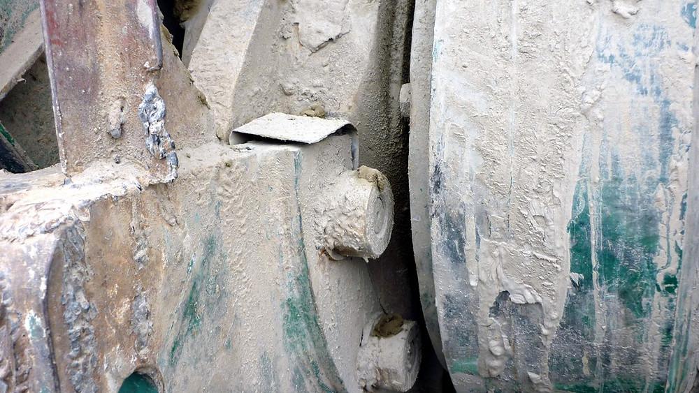 Фотография дробилки до ремонта
