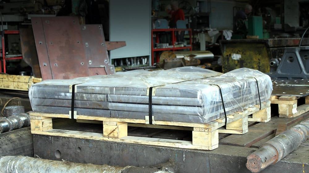 Производство футеровки из стали Hardox