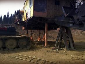 Ремонт посадочного места центральной цапфы экскаватора ЭКГ