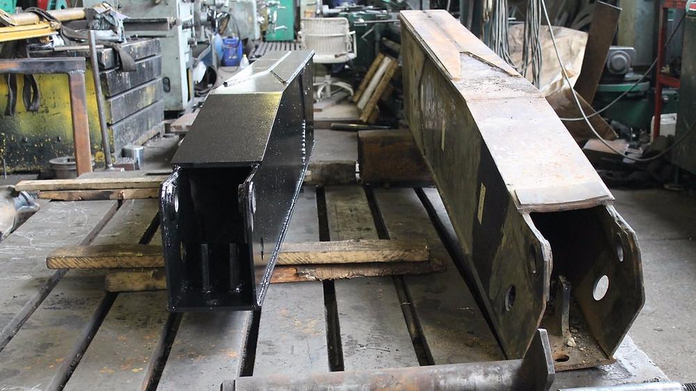 Изготовление опорной лапы автокрана