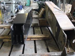 Изготовление опорной лапы автокрана грузоподъемностью 35 т