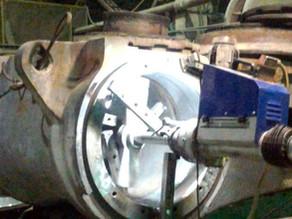 Ремонт щековой дробилки Sandvik JM1211