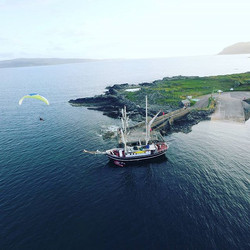 Each year I have  groups of #paramotor pilots joining me on an #aerialadventure