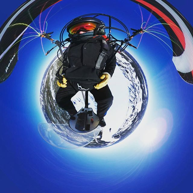 #Paratriking and #paramotoring in the #extremecold is #challenging especially when the #temperature
