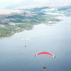 Out #paramotoring the #scotishhighlands. Paramotoring.is a great way to #exploringtheskies