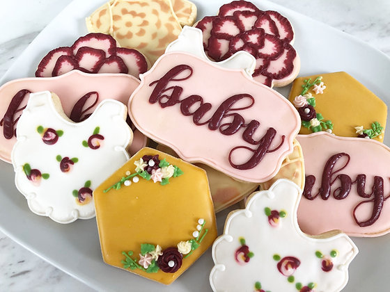 BABY SHOWER - FLORAL