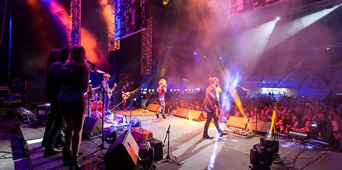A CCE rock concert