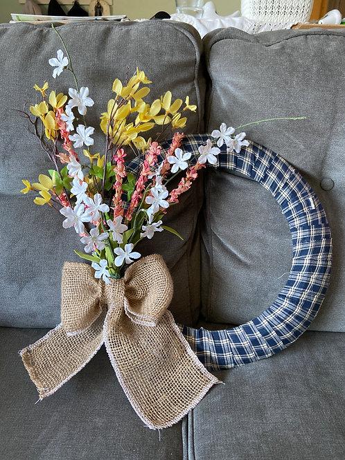 FARMHOUSE Spring wreath