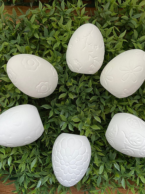 Set of Ceramic Easter Eggs