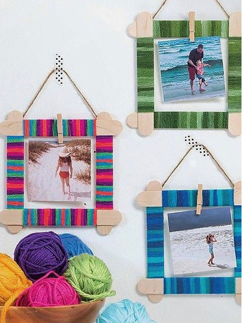 Popsicle Photo Frame