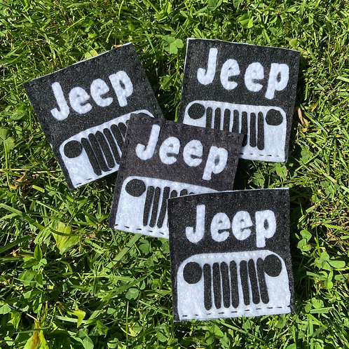 """Coasters for Car lovers""""JEEP"""""""