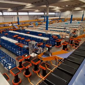 Caminho da robótica na logística mundial e da Flash Courier