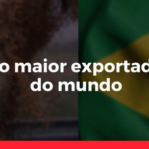 Brasil como maior exportador de grãos do mundo