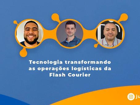 Tecnologia transformando as operações logísticas da Flash Courier
