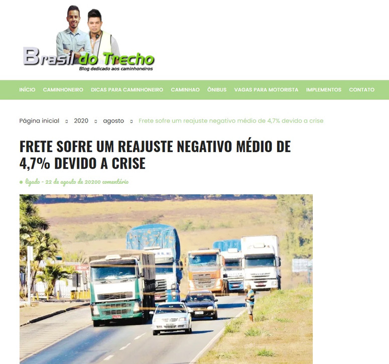 Brasil do trecho