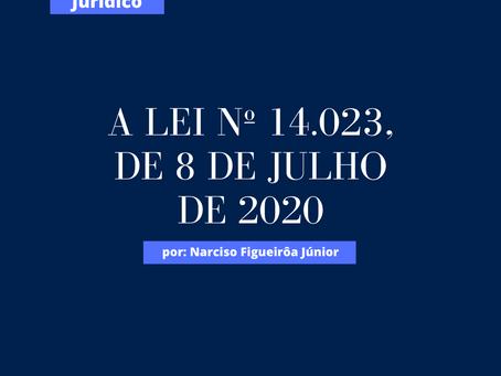 A Lei nº 14.023, de 8 de julho de 2020