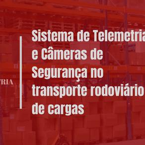 Sistema de Telemetria e Câmeras de Segurança no transporte rodoviário de cargas