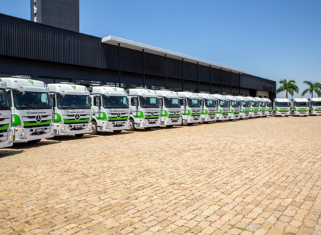 TransJordano investe em tecnologia e segurança e adiciona 70 caminhões Mercedes-Benz à sua frota