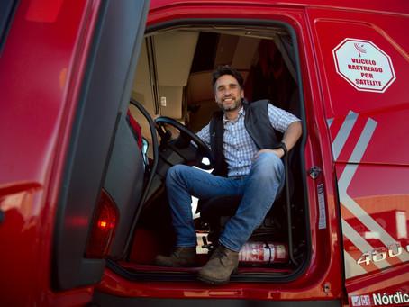 Empresário paranaense aponta os principais aspectos da inserção da tecnologia no transporte de carga