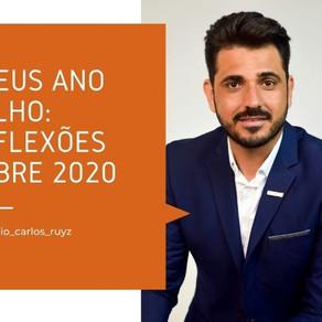 Adeus ano velho: reflexões sobre 2020