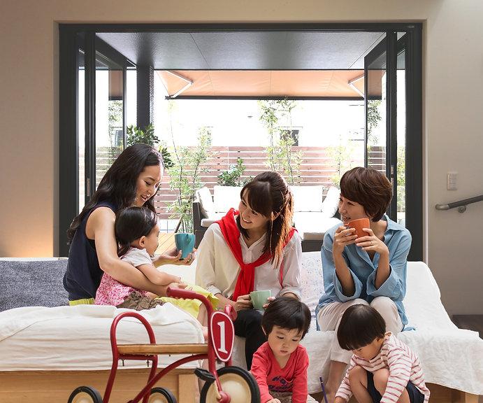 岡崎のオシャレなカフェ空間をレンタル。ママ会に#おうちレンタル