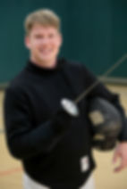 Fencing Coach Nick Cahill