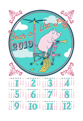 Year of the Pig 2019