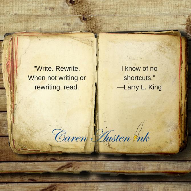 Write, Rewrite, Read, Repeat