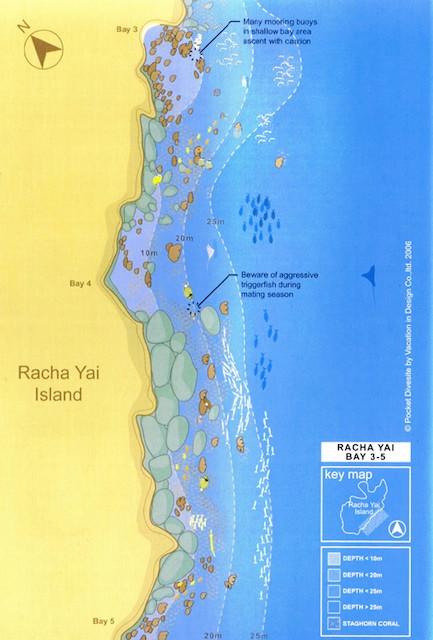 Racha Yai Bay 3-4