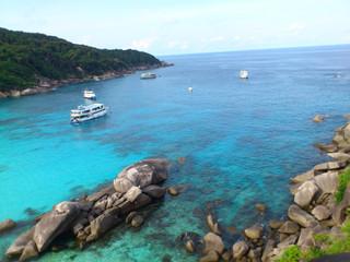 Ныряем на Симиланских островах