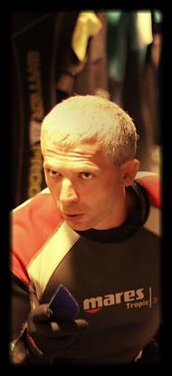 Русский инструктор по дайвингу, Пхукет